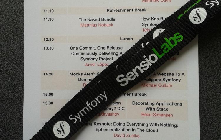 Six talks, two Deeson Drupal devs and Symfony Live London