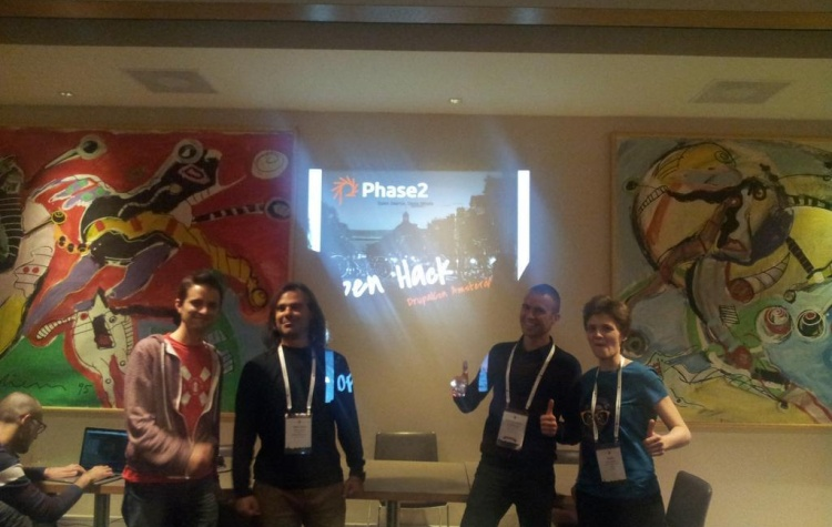 DrupalCon Amsterdam: Phase2 hackathon on Drupal distributions