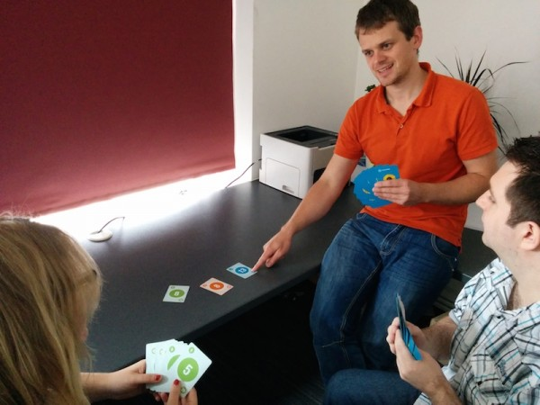 Planning Poker playing