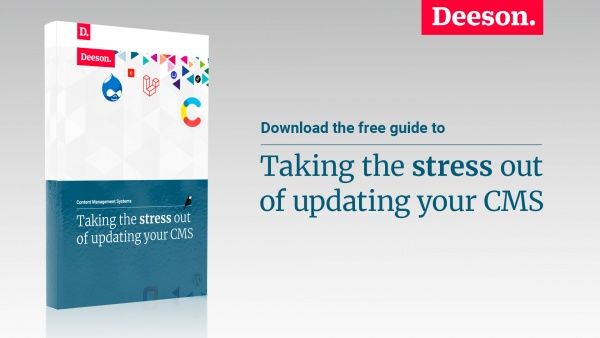 deeson guide to taking the strees out of your cms upgrade