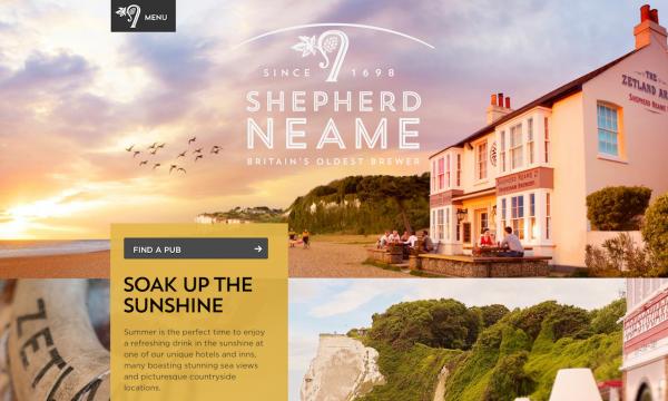 Shepherd Neame Home Page