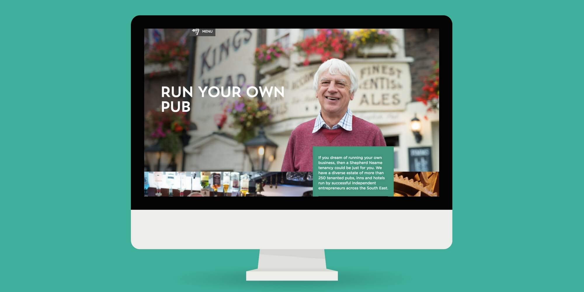 Shepherd Neame website screenshot